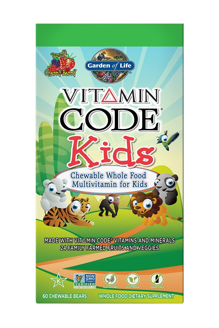 Vitamin Code® Kids Multivitamin (60 Tabs)
