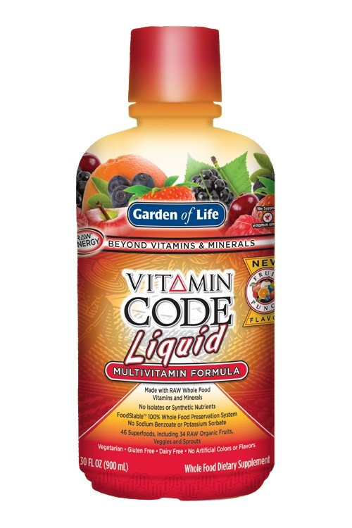 Vitamin Code® Liquid Fruit Punch (900ml)