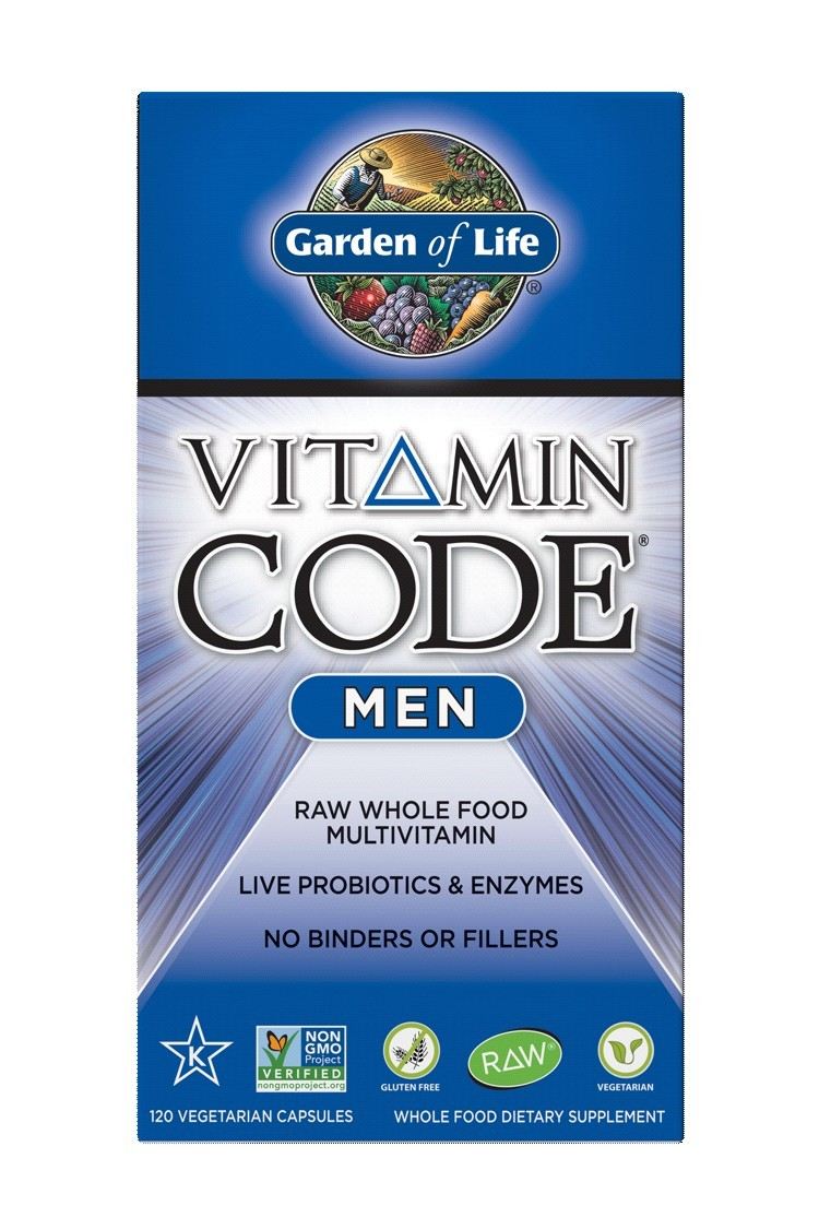 Vitamin Code® Mens Multivitamin (120)