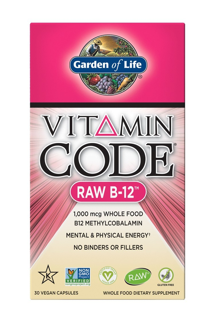 Vitamin Code® RAW B-12 (30 Caps)