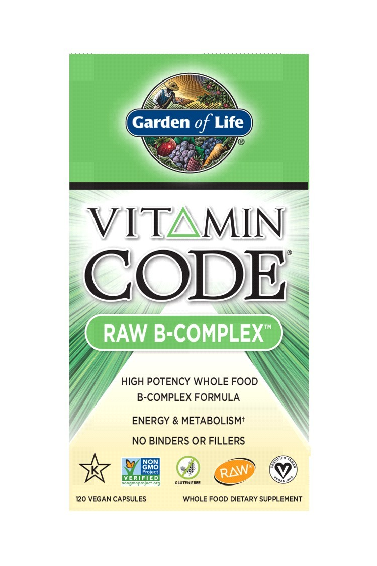Vitamin Code® RAW B Complex (120 Caps)