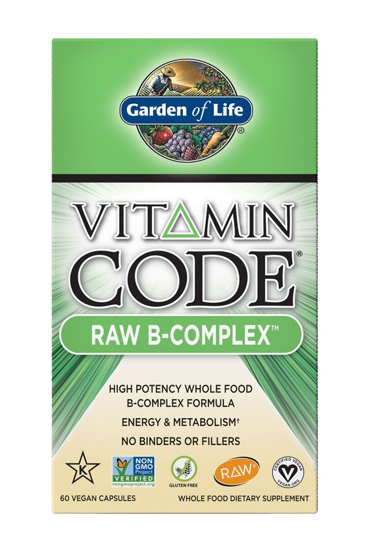 Vitamin Code® RAW B Complex (60 Caps)