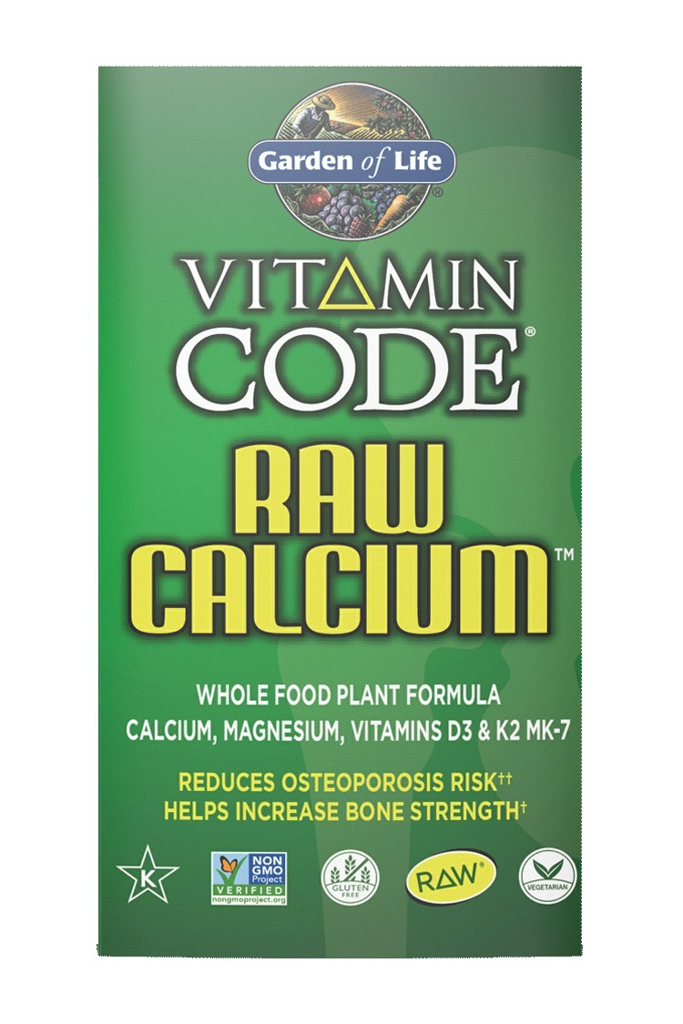 Vitamin Code® RAW Calcium™ (120 Caps)