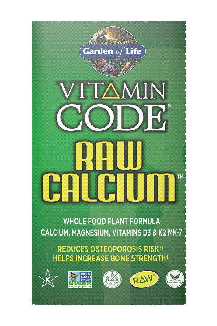 Vitamin Code® RAW Calcium™ (60 Caps)