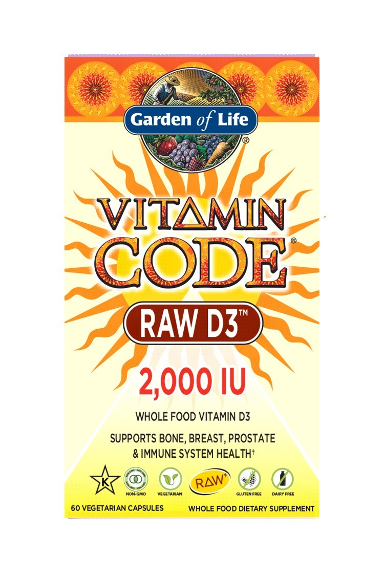 Vitamin Code® RAW D3 2000 IU (60 Caps)