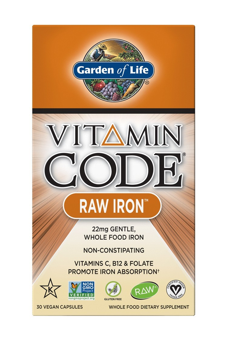 Vitamin Code® RAW Iron (30 Capsules)