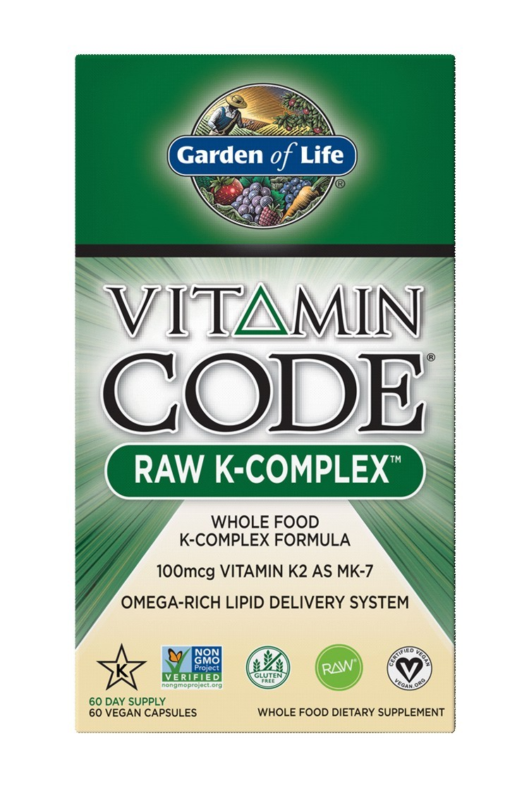 Vitamin Code® RAW K-Complex (60 Caps)