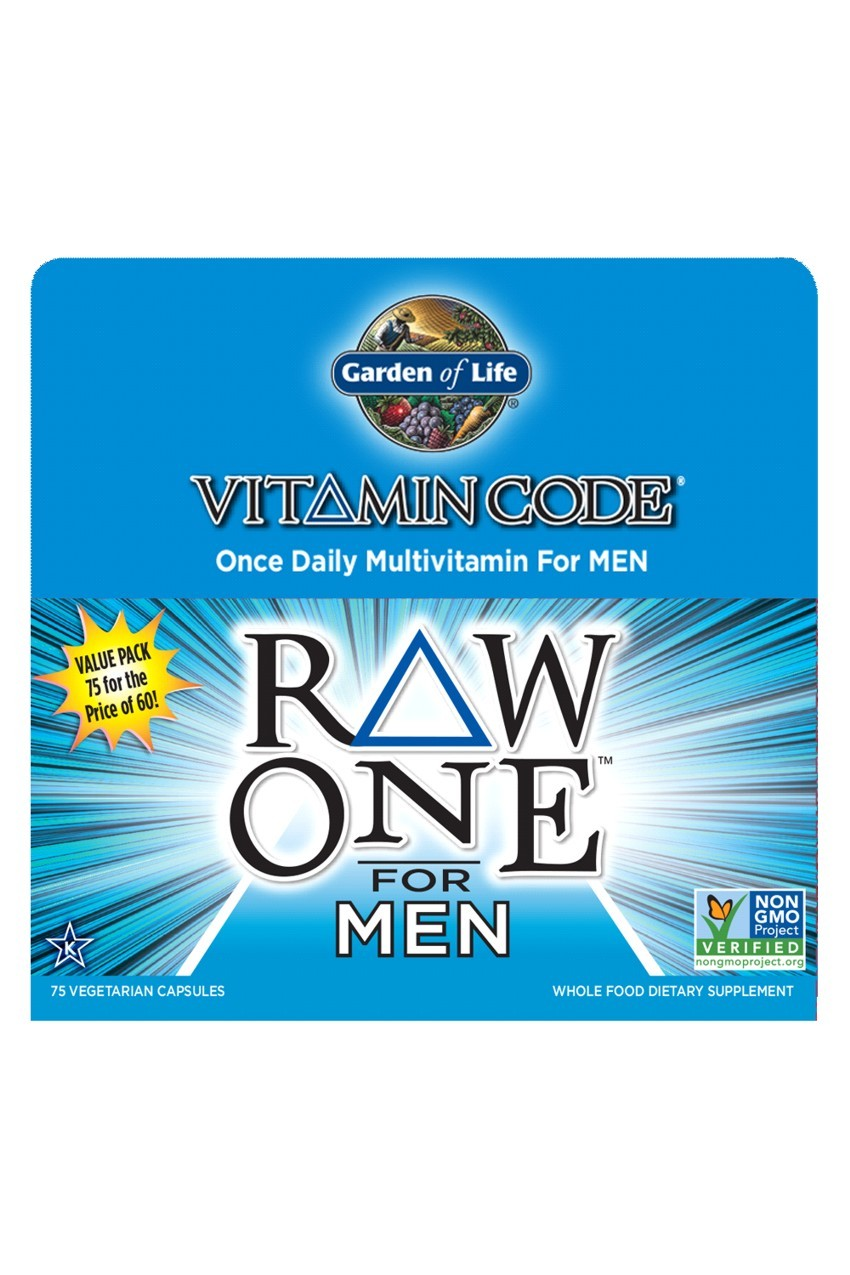 Vitamin Code® RAW ONE™ for Men (75)