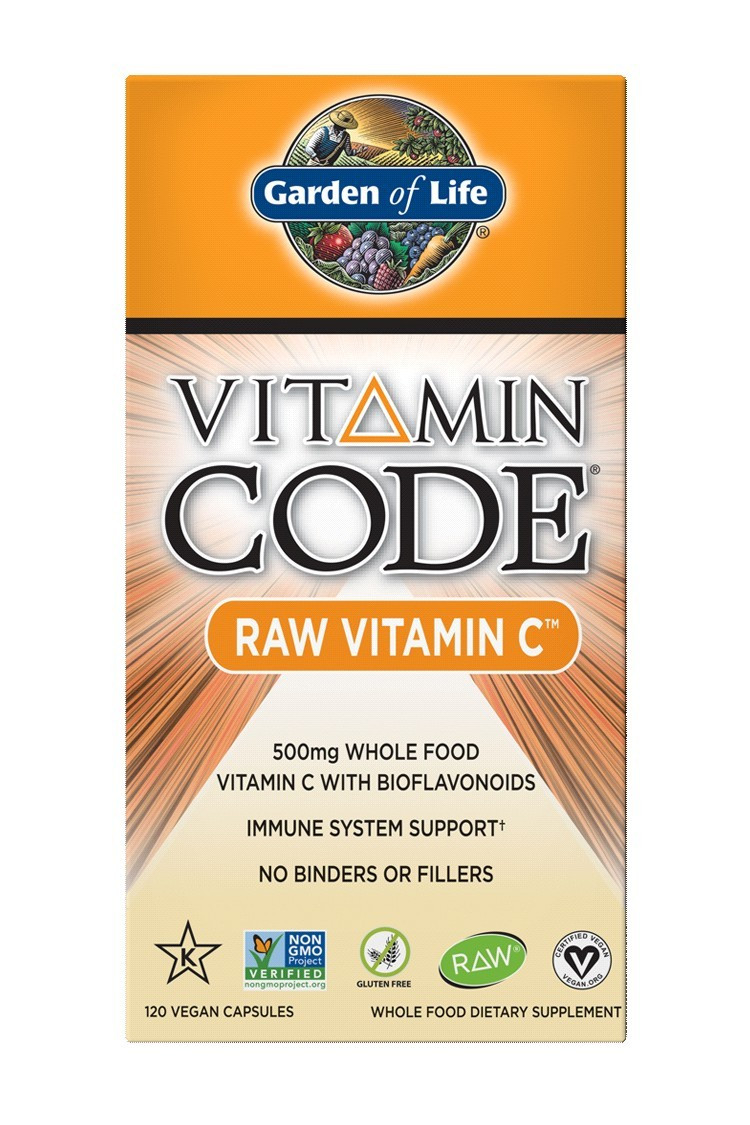Vitamin Code® RAW Vitamin C (120 Caps)