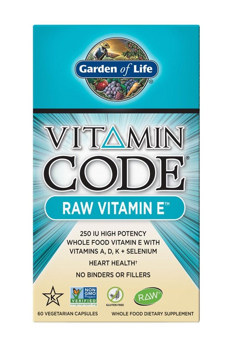 Vitamin Code® RAW Vitamin E (60 Caps)