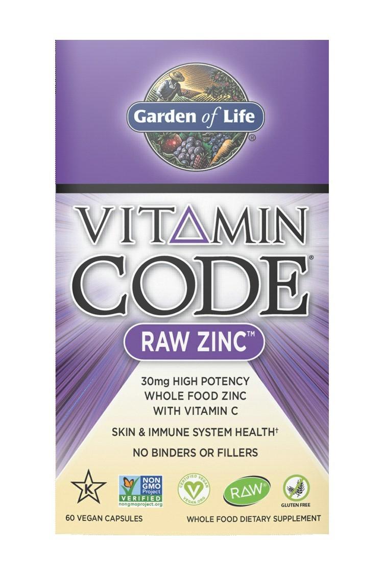 Vitamin Code® RAW Zinc (60 Caps)
