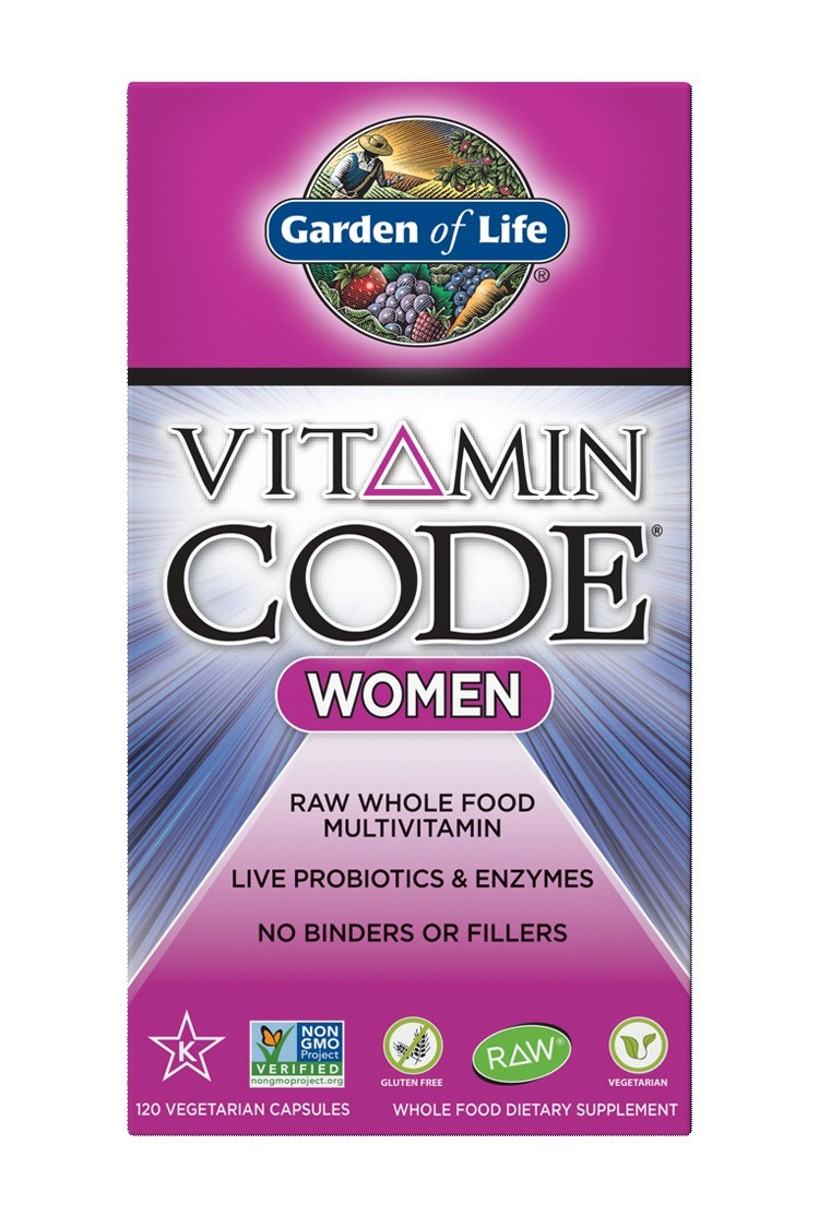 Vitamin Code® Women's Multivitamin (120)