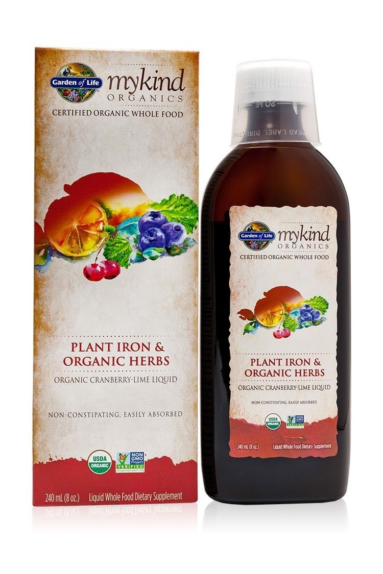 mykind Organics Plant Iron & Herbs 240ml