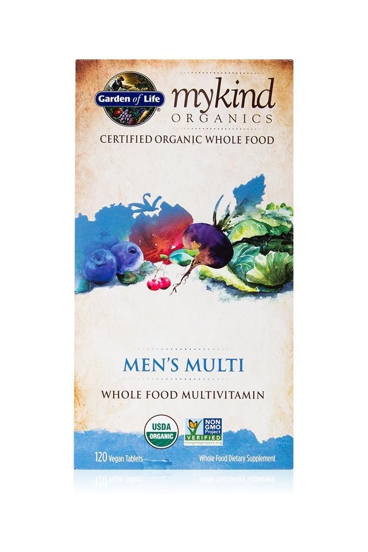 mykind Organics Mens Multi (120 Tabs)