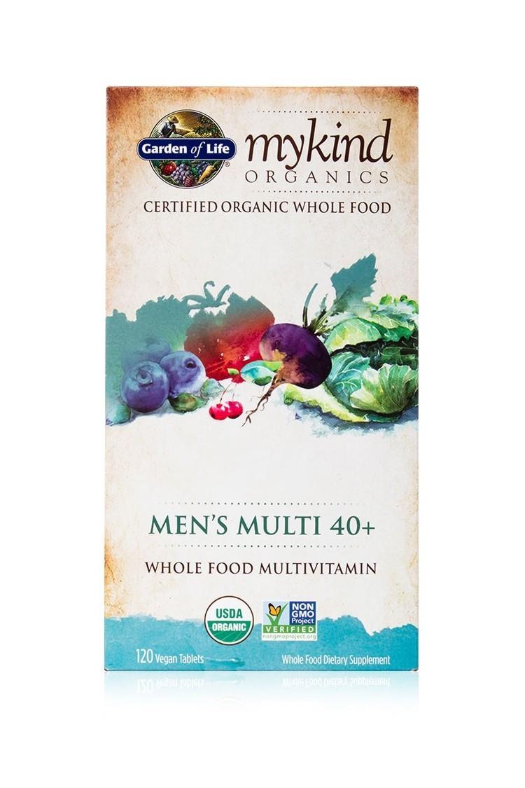mykind Organics Mens Multi 40+ (120 Tabs)