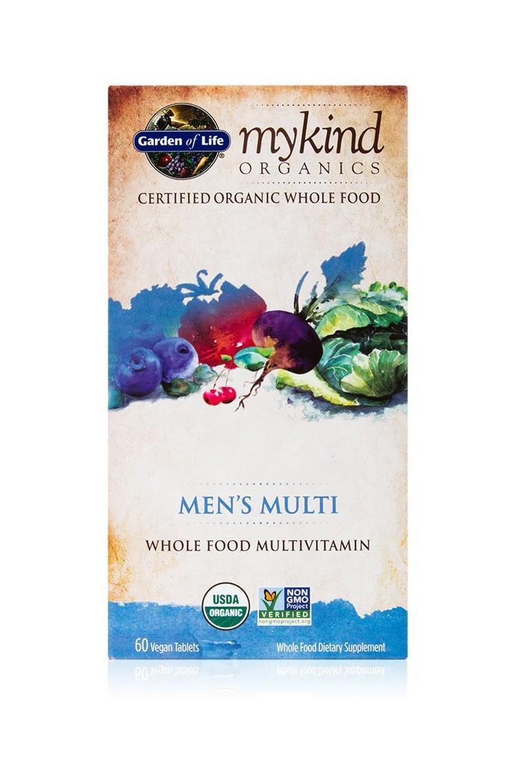 mykind Organics Mens Multi (60 Tabs)