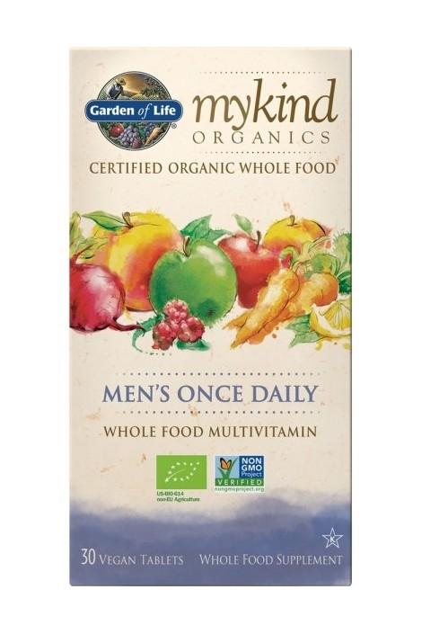 mykind Organics Mens Once Daily (30 Tabs)