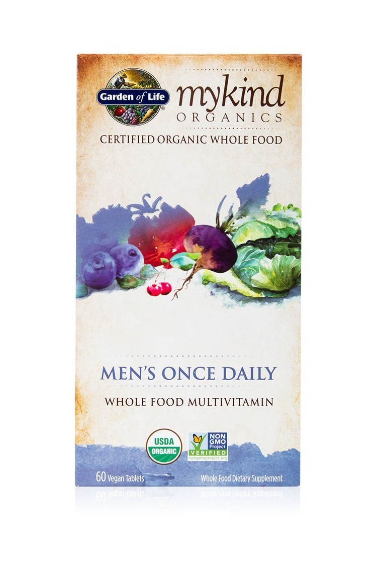 mykind Organics Mens Once Daily (60 Tabs)