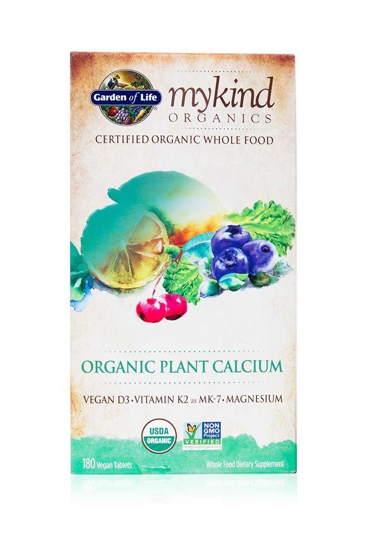 mykind Organics Plant Calcium (180 Tabs)