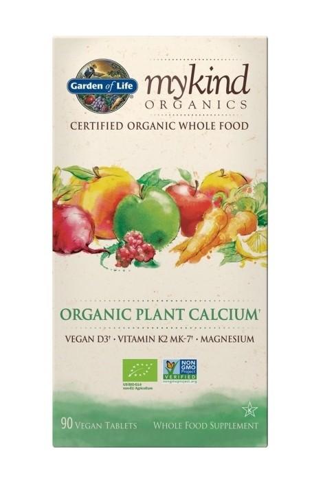 mykind Organics Plant Calcium (90 Tabs)