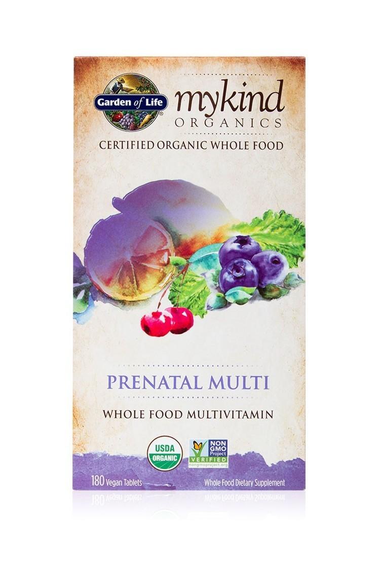mykind Organics Prenatal Multi (180 Tabs)