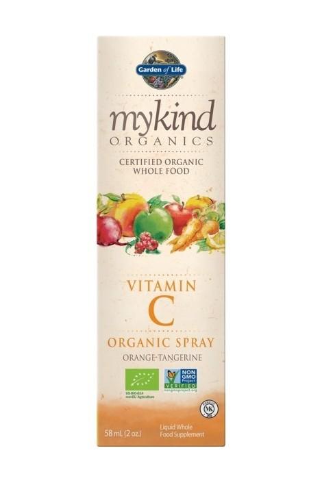 mykind Organics Vitamin C Spray (Orange)