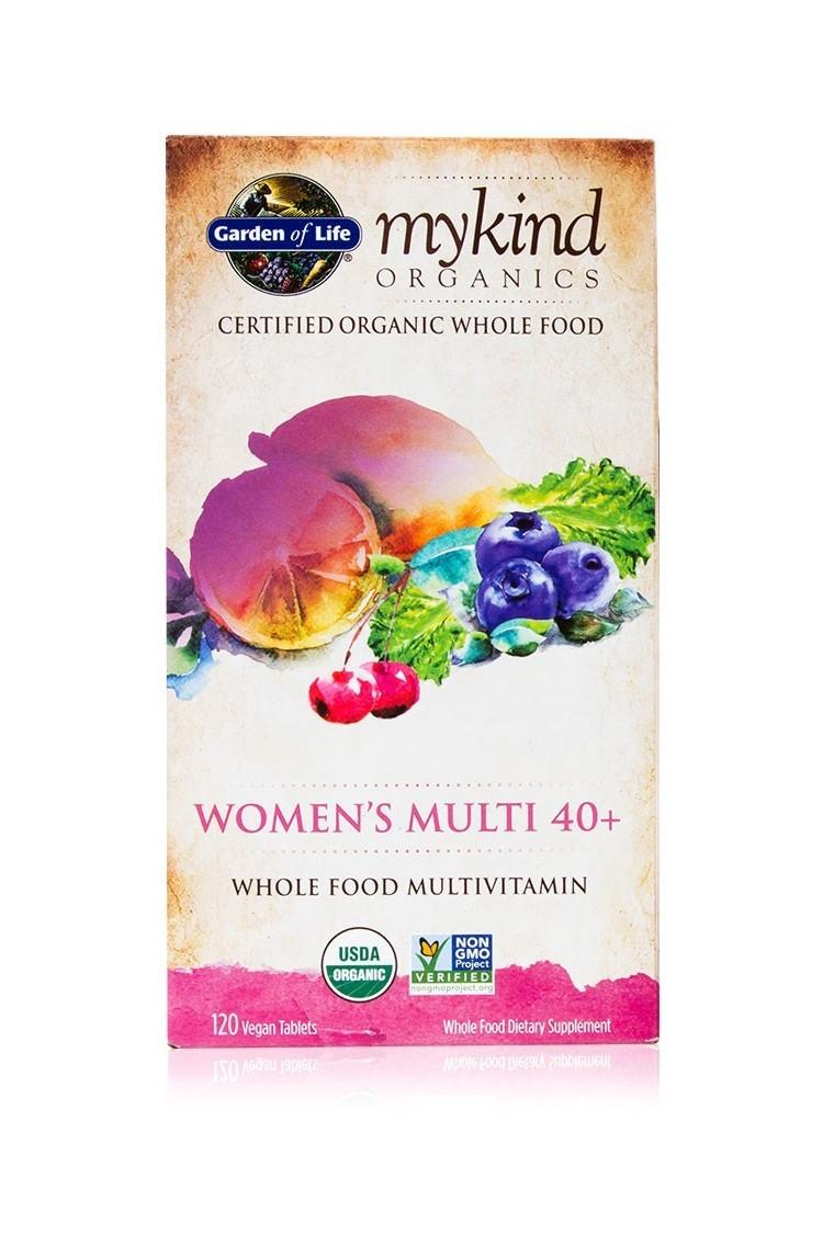 mykind Organics Womens Multi 40+ (120 Tab)