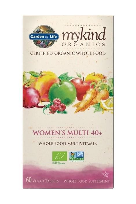 mykind Organics Womens Multi 40+ (60 Tabs)