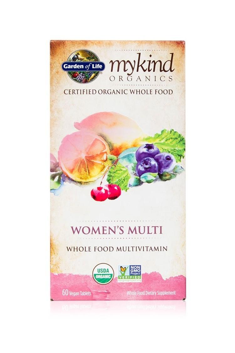 mykind Organics Womens Multi (60 Tabs)