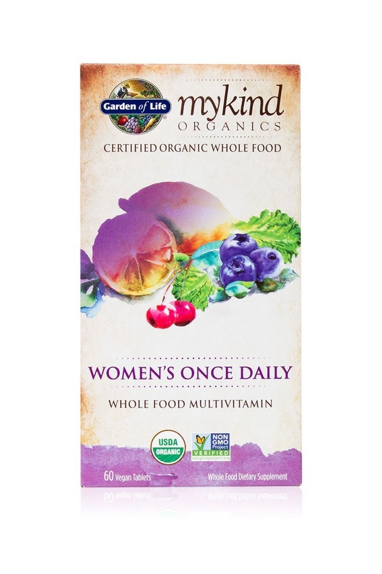 mykind Organics Womens Once Daily (60 Tab)