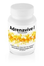 Adrenavive I Whole Adrenal Complex 200mg (90 caps)