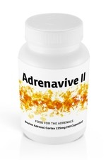 Adrenavive II Adrenal Cortex 125mg (90 caps)