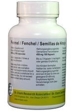 Fennel 450mg (100 capsules)
