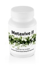Metavive II Porcine Thyroid 30mg (90 caps)