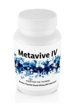 Metavive IV Bovine Thyroid 65mg (90 caps)