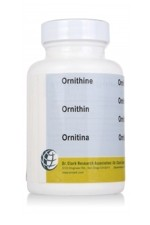 Ornithine 500mg (100 Capsules)