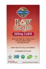 RAW CoQ10 200mg (60 Caps)