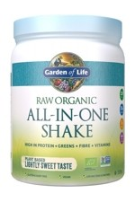 RAW Organic All in One Shake Lightly Sweet (519g)