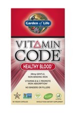 Vitamin Code® Healthy Blood™ (60 Caps)