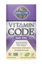 Vitamin Code® RAW Zinc (60 Caps)